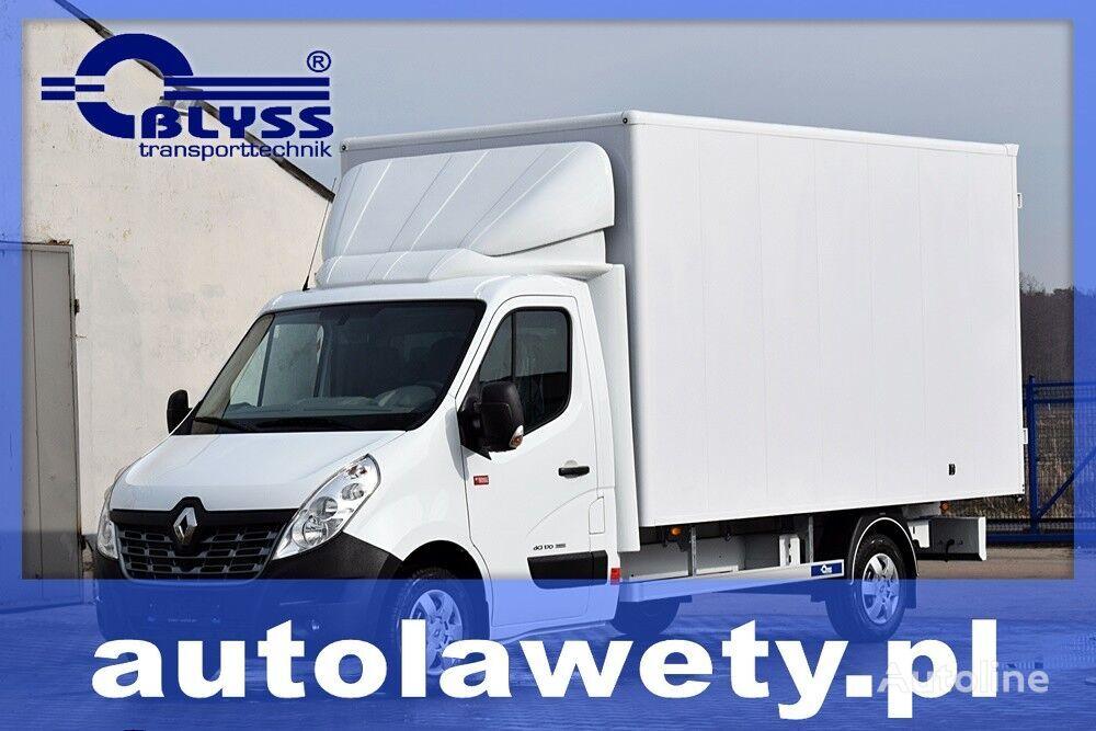 new RENAULT MASTER KONTENER SKRZYNIA ZABUDOWA HOMOLOGACJA 3,5 box truck body