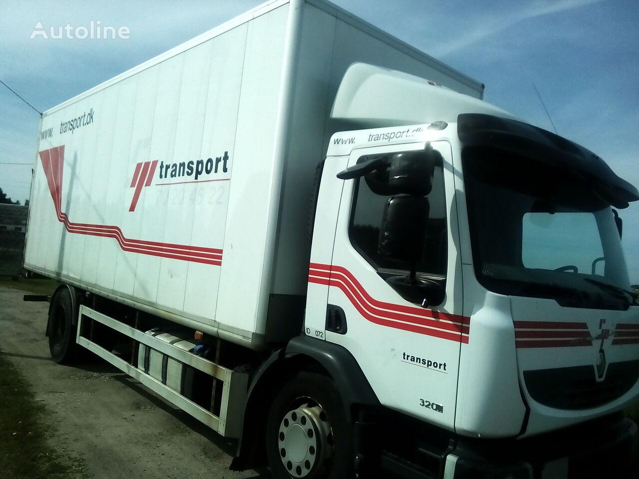 RENAULT PREMIUM DXI box truck body