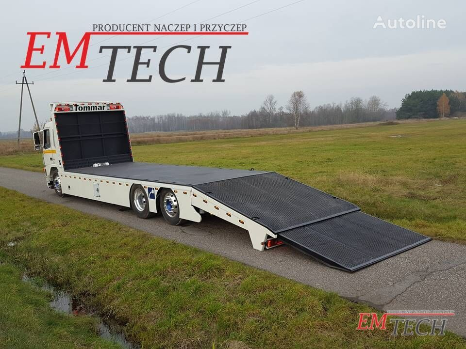 new EMTECH Zabudowa specjalistyczna car transporter body