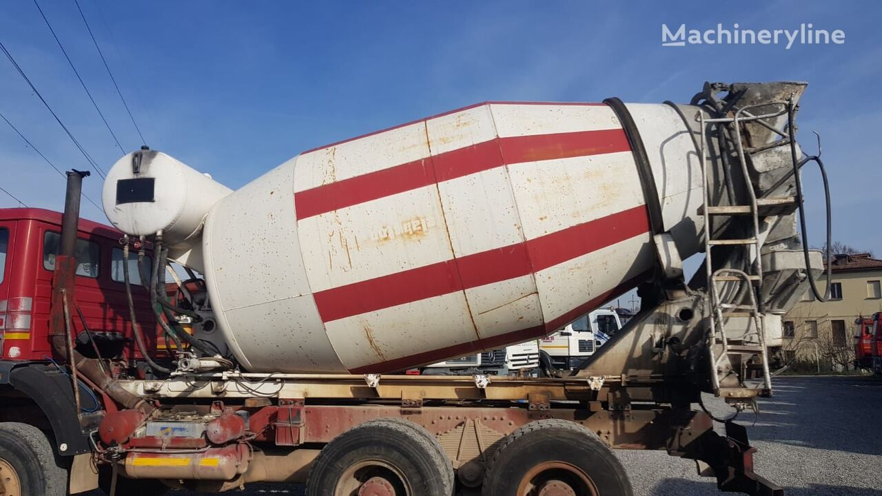 CIFA SRY 1100 concrete mixer drum