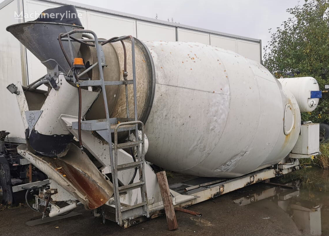 LT OK 7500 concrete mixer drum