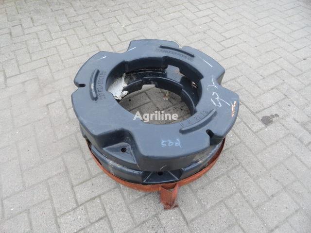 new Hinterradgewichte CNH 227 kg counterweight