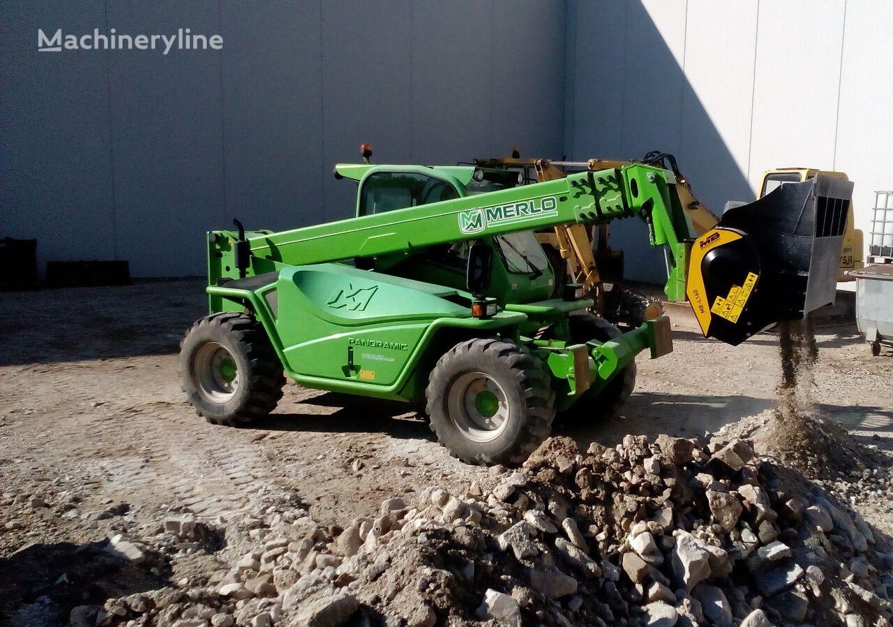new MB Crusher  Benna frantoio / Törőeszköz kompakt rakodóhoz MB-L140 S2 crushing bucket