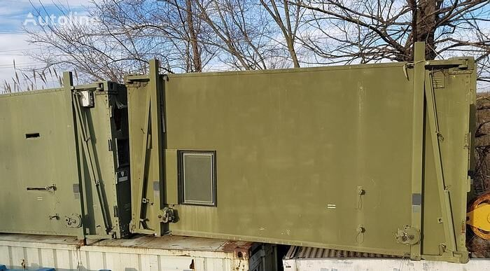 Rinaldo Piaggio Genova Shelter Tipo 2 RP384-1 dump truck body