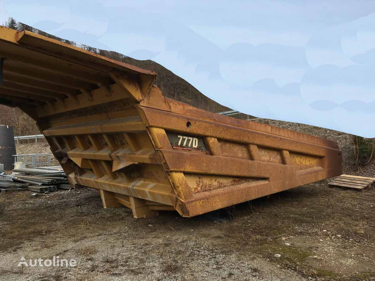 CATERPILLAR dump truck body