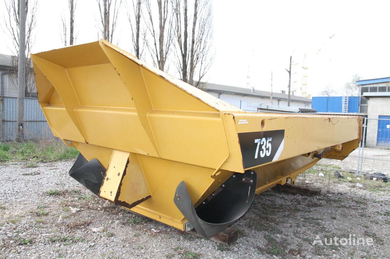 CATERPILLAR 735 dump truck body