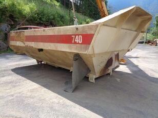 CATERPILLAR 740 B dump truck body