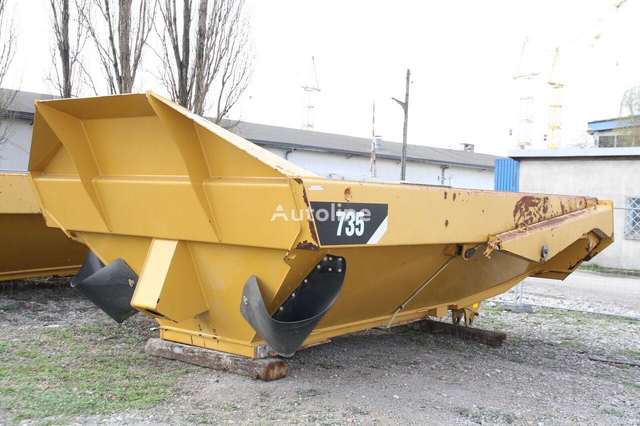CATERPILLAR KIPPER TIPPER BODY DUMPER CATERPILLAR CAT 735 FLAP DOOR dump truck body