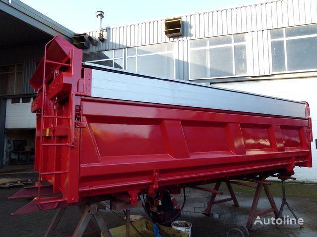 Hyva 3Z met kleppen/with hydraulic covers - 3-Zijdig / 3-Way / Dreise dump truck body