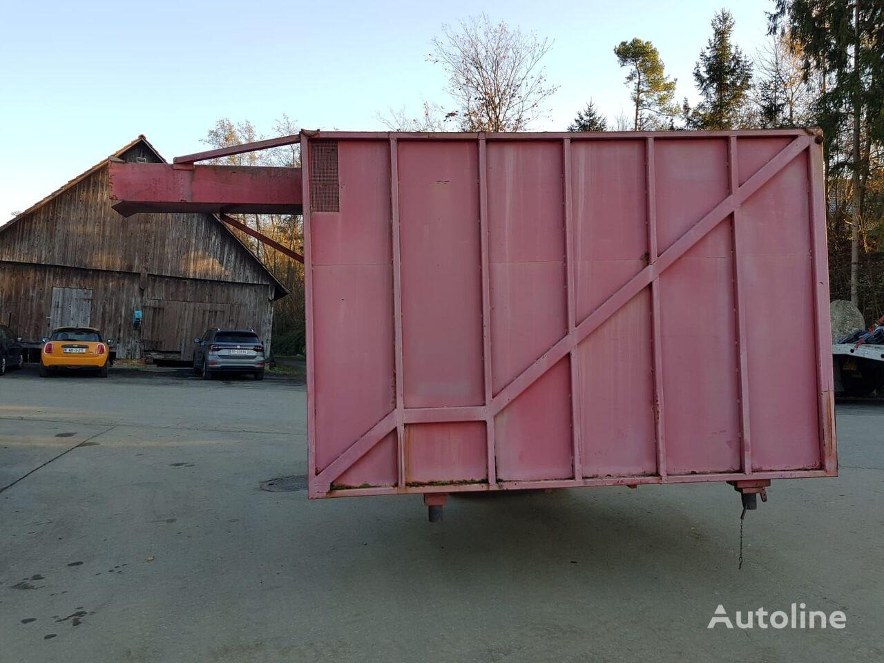 Leichtgut Container Aufbau dump truck body