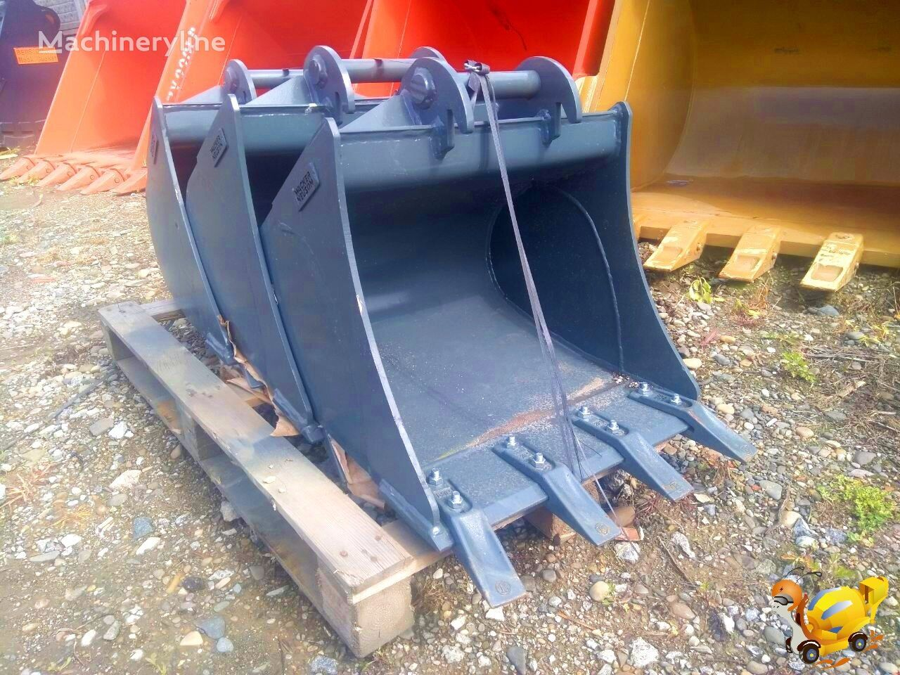 new WACKER Neuson 24` excavator bucket