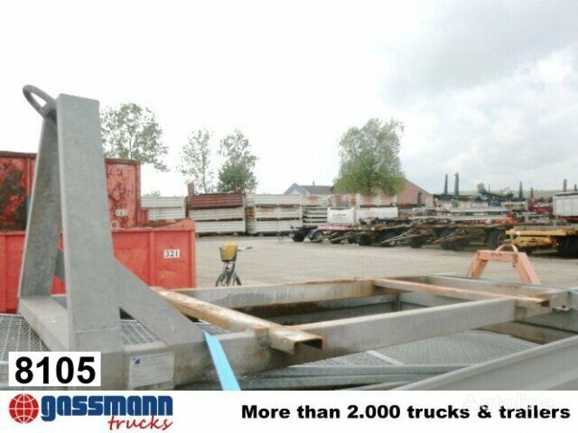 Andere 286 Abrollrahmen flatbed truck body