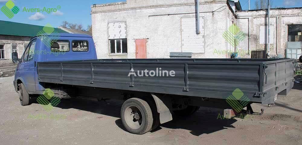 new GAZ Izgotovlenie bortovogo kuzova dlya Gazel 5,5m flatbed truck body