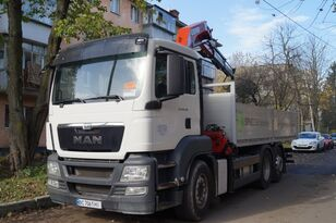 new MAN TGS flatbed truck body