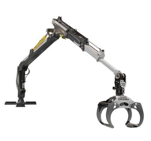 new Cranab FC12 forestry crane