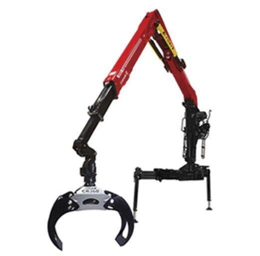 new Cranab TZ12 forestry crane