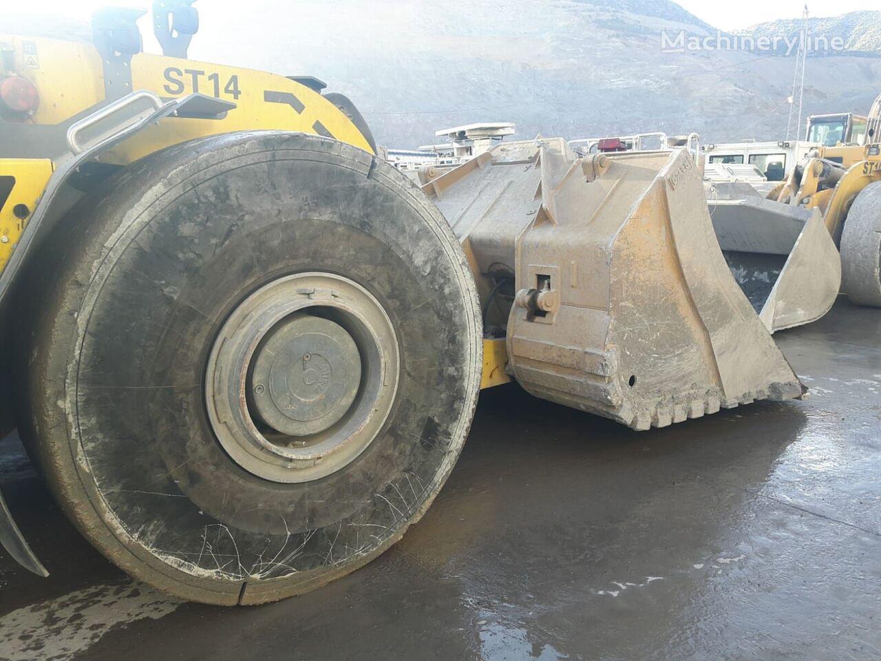 new Atlas Copco Underground Mining Bucket(Push-Blade) front loader bucket