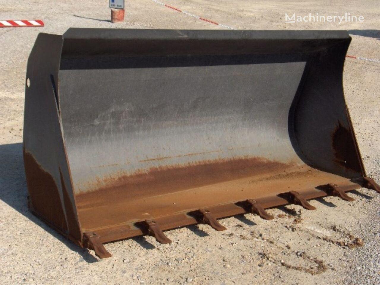 BUCKET WITH TEETH 1MC Lungh.1900mm front loader bucket