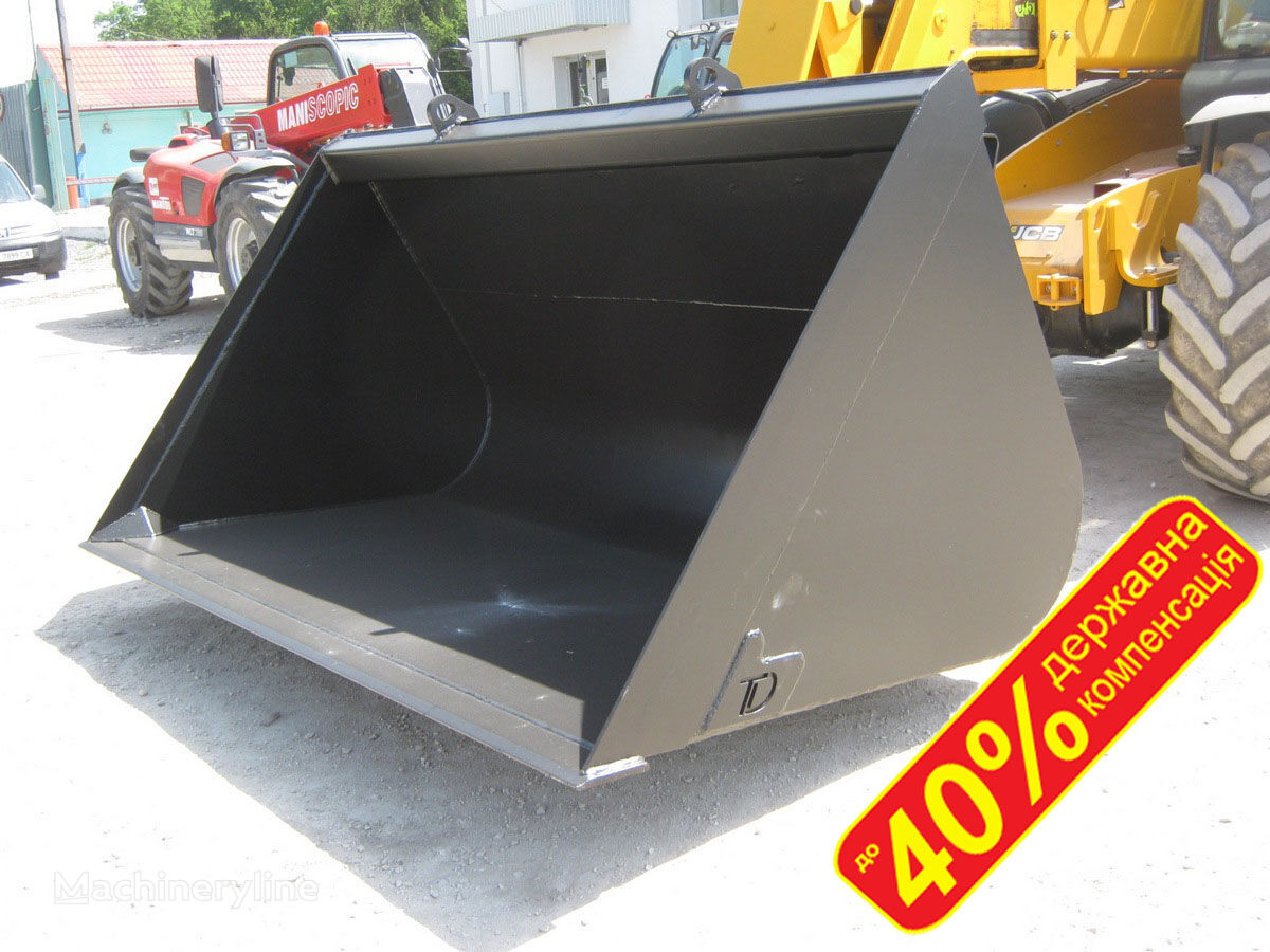 new JCB Kovsh jcb 2,7m³ - kovsh pogruzchika JCB DERZhKOMPENSACIYa do 40% front loader bucket