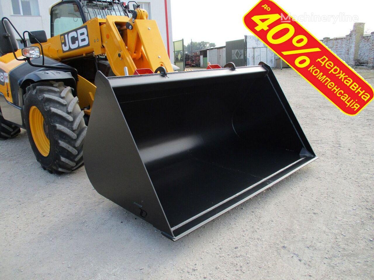 new JCB universalnyy kovsh DERZhKOMPENSACIYa do 40% front loader bucket