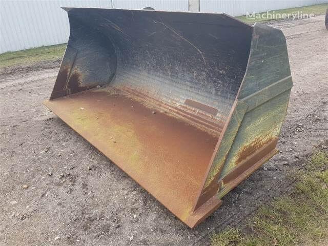 Jordskovl 2,74m Bred front loader bucket