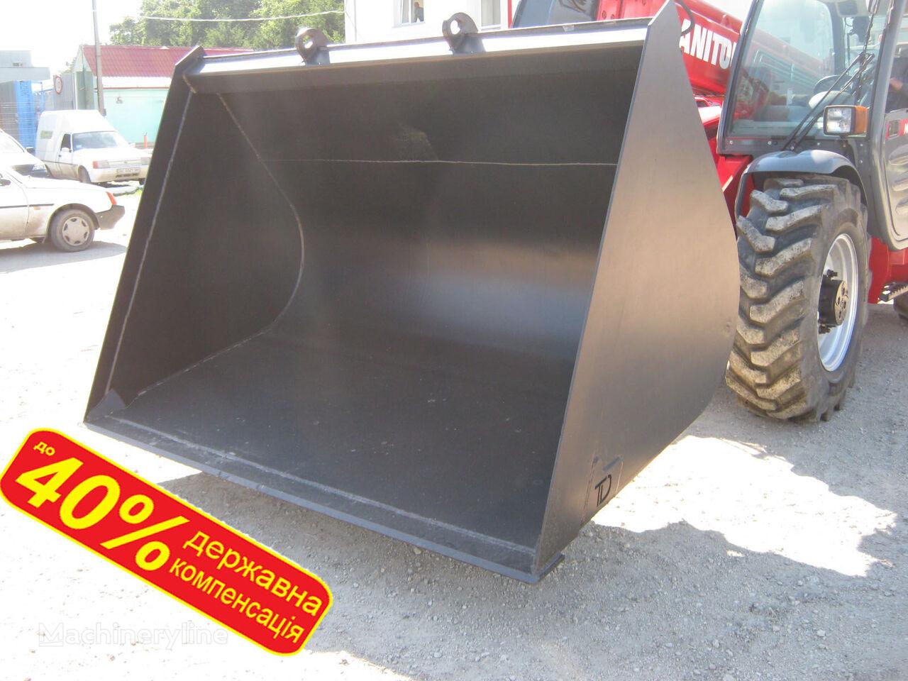 new MANITOU  JCB, Bobcat, HAULOTTE, CLAAS - Kovshi zernovye front loader bucket