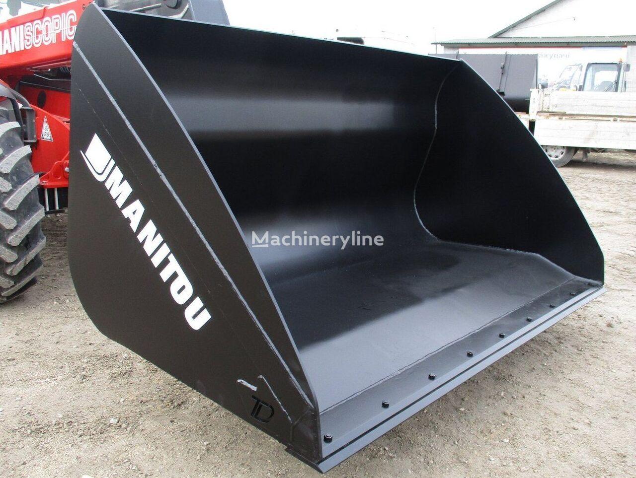 new MANITOU kovsh universalnyy 2,5m³ DERZhKOMPENSACIYa do 40% front loader bucket