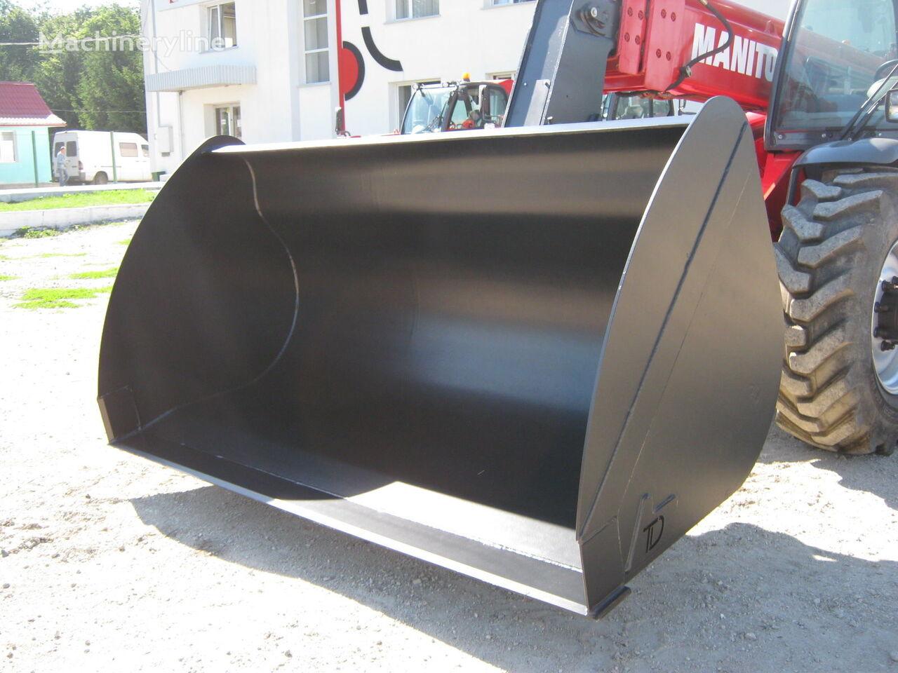 new MANITOU kovshi zahvaty oborudovanie DERZhKOMPENSACIYa do 40% front loader bucket