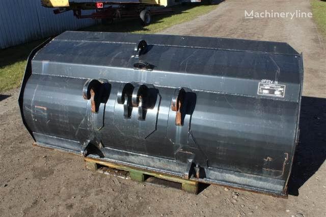 WESTERN Jordskovl front loader bucket