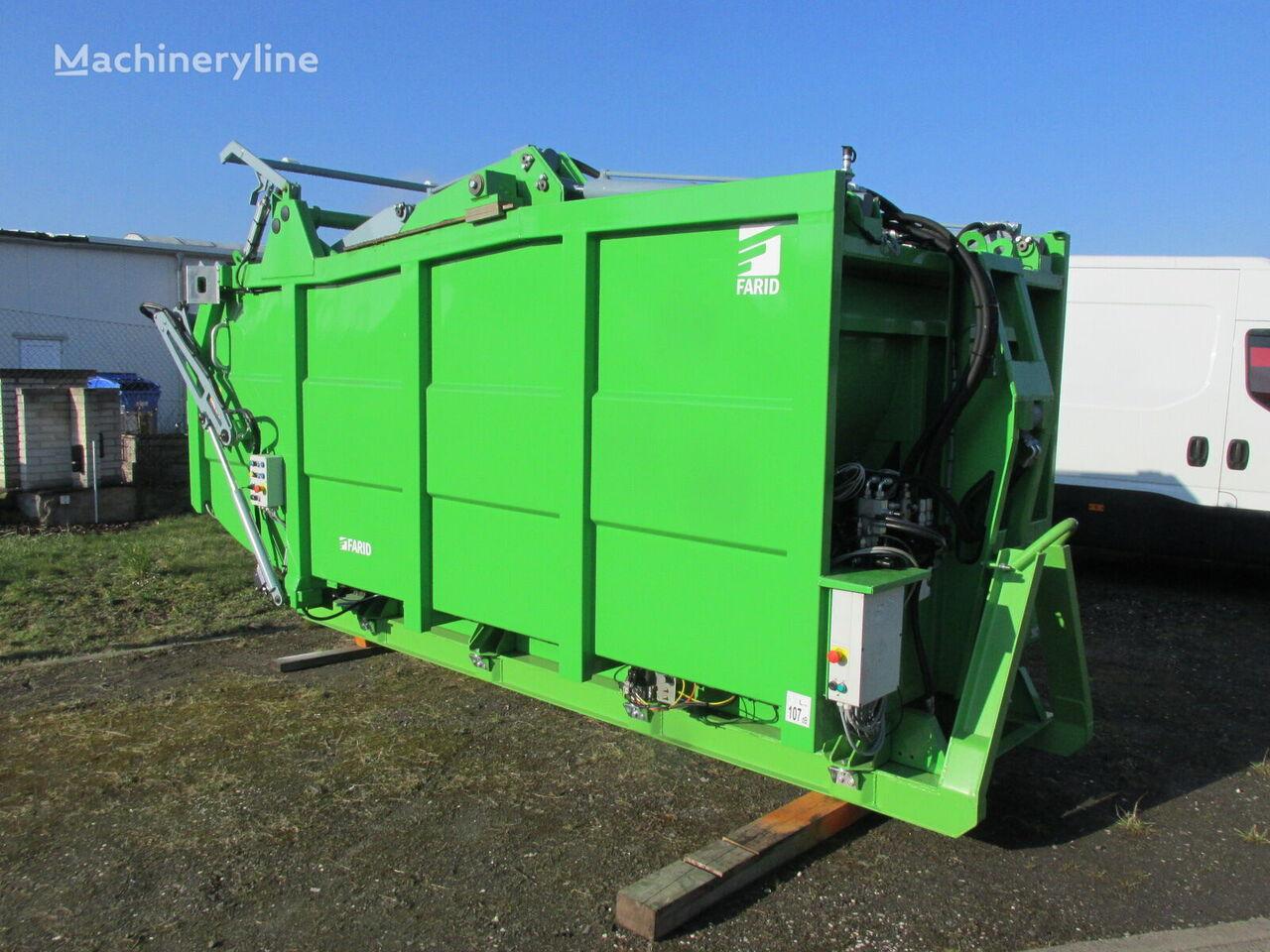new FARID MK2 garbage truck body
