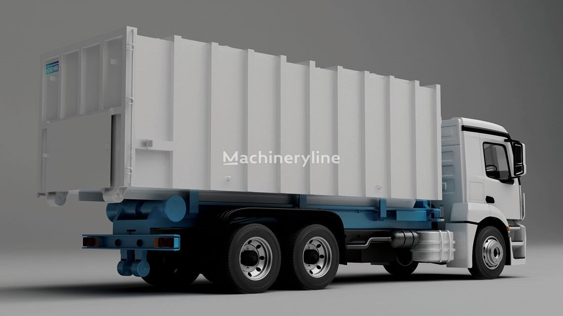 new HİDRO-MAK HOOKLIFT garbage truck body