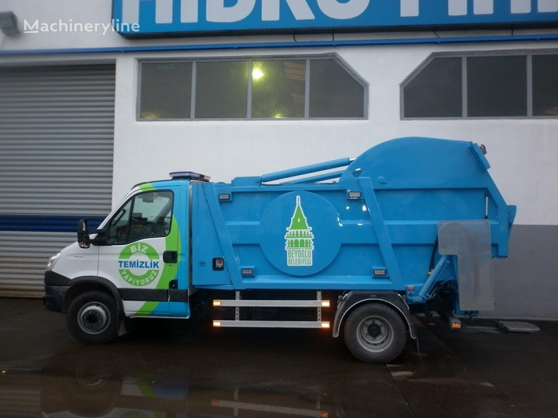 new HİDRO-MAK MONOBLOK garbage truck body