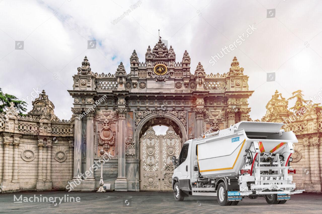 new HİDRO-MAK Maxi Damper garbage truck body