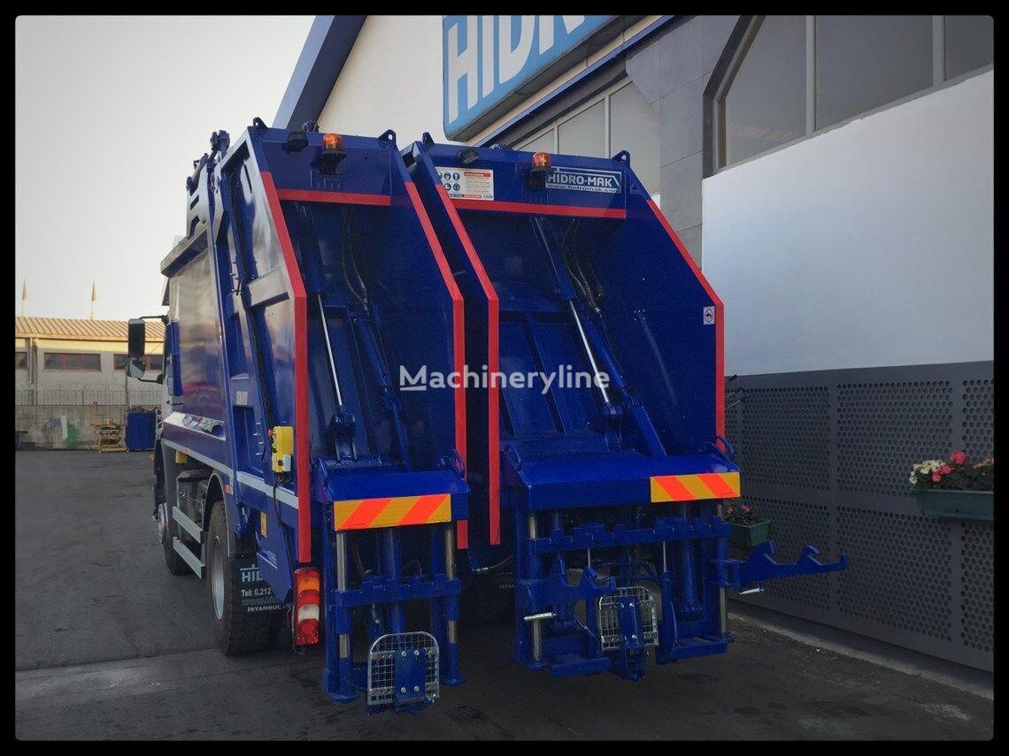 new HİDRO-MAK Çift Bölmeli Hidrolik Sıkıştırmalı Çöp Kasası (ECOTWiN) garbage truck body