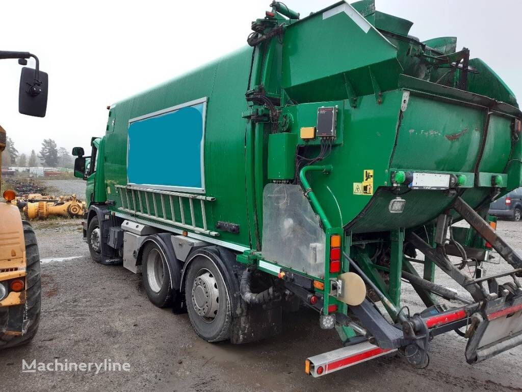 QUATRO 4-facks sopaggregat NTM garbage truck body