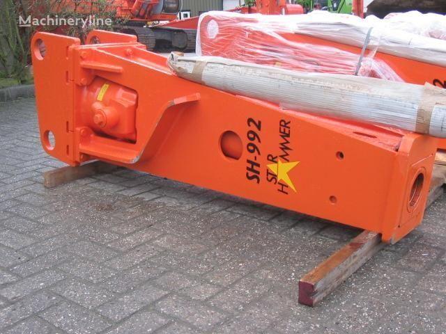 new STAR Hammer SH 992 hydraulic breaker