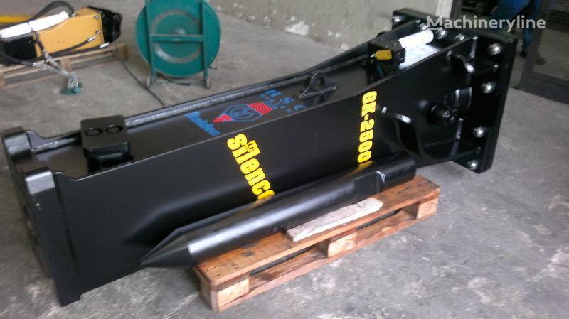 new STAR Hammer G 2500S hydraulic breaker