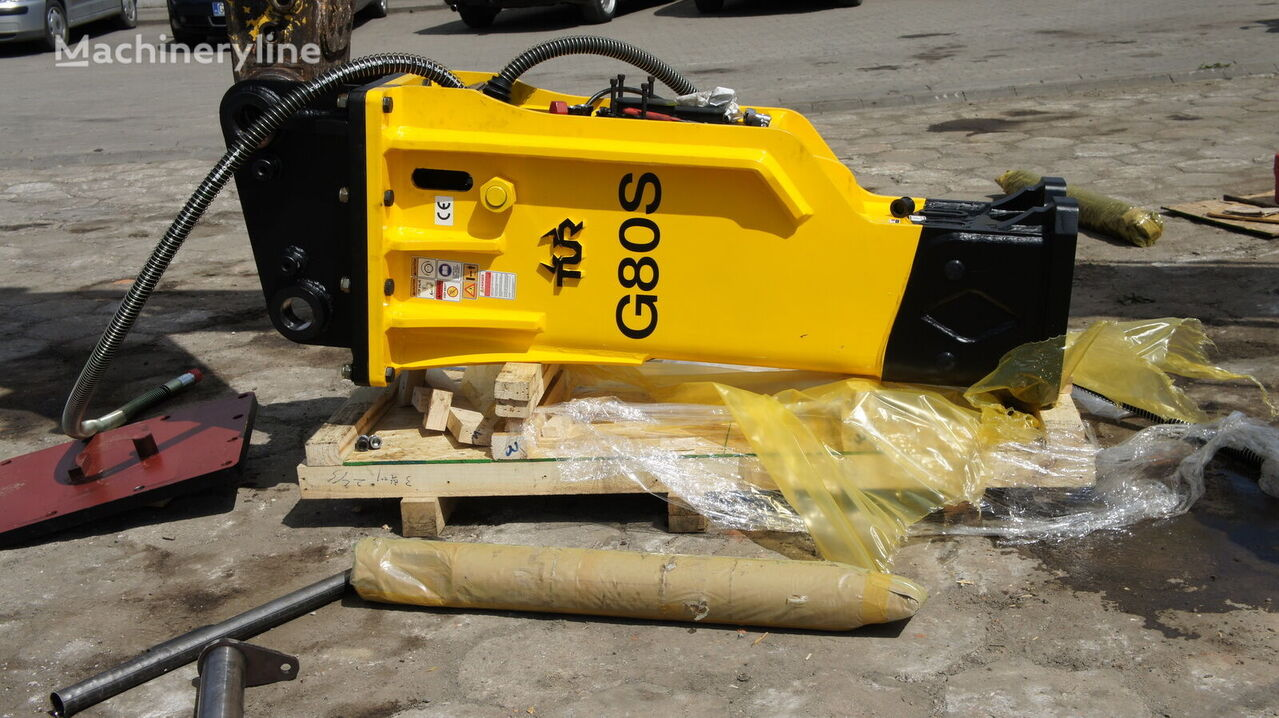 new DB TECH TUR G80S GWARANCJA hydraulic breaker