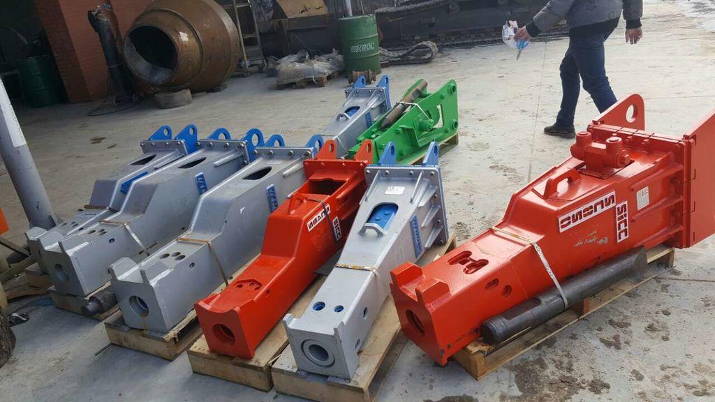 new HAMMER v nalichii HM 100/200/500/1000/1500/2900 hydraulic breaker