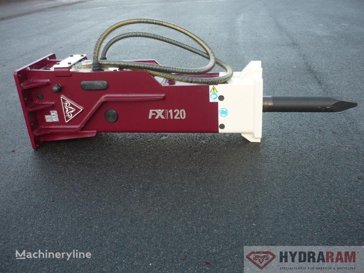 new HYDRARAM FX-220 gidromolot hydraulic breaker