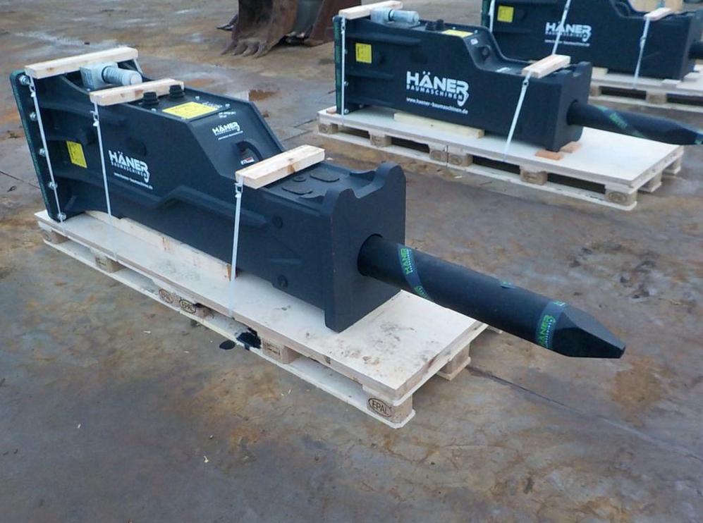 new Häner HGS53 hydraulic breaker