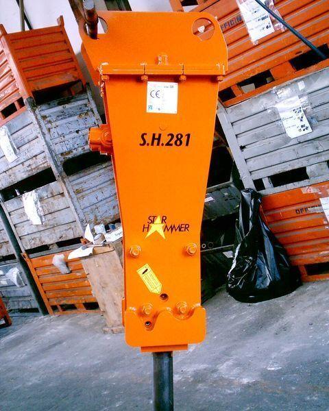 new STAR Hammer G 281S hydraulic breaker