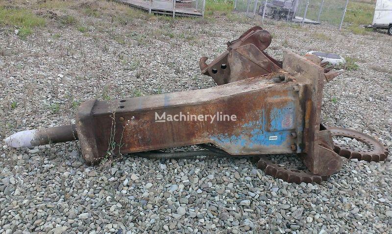 KRUPP 1000 hydraulic breaker