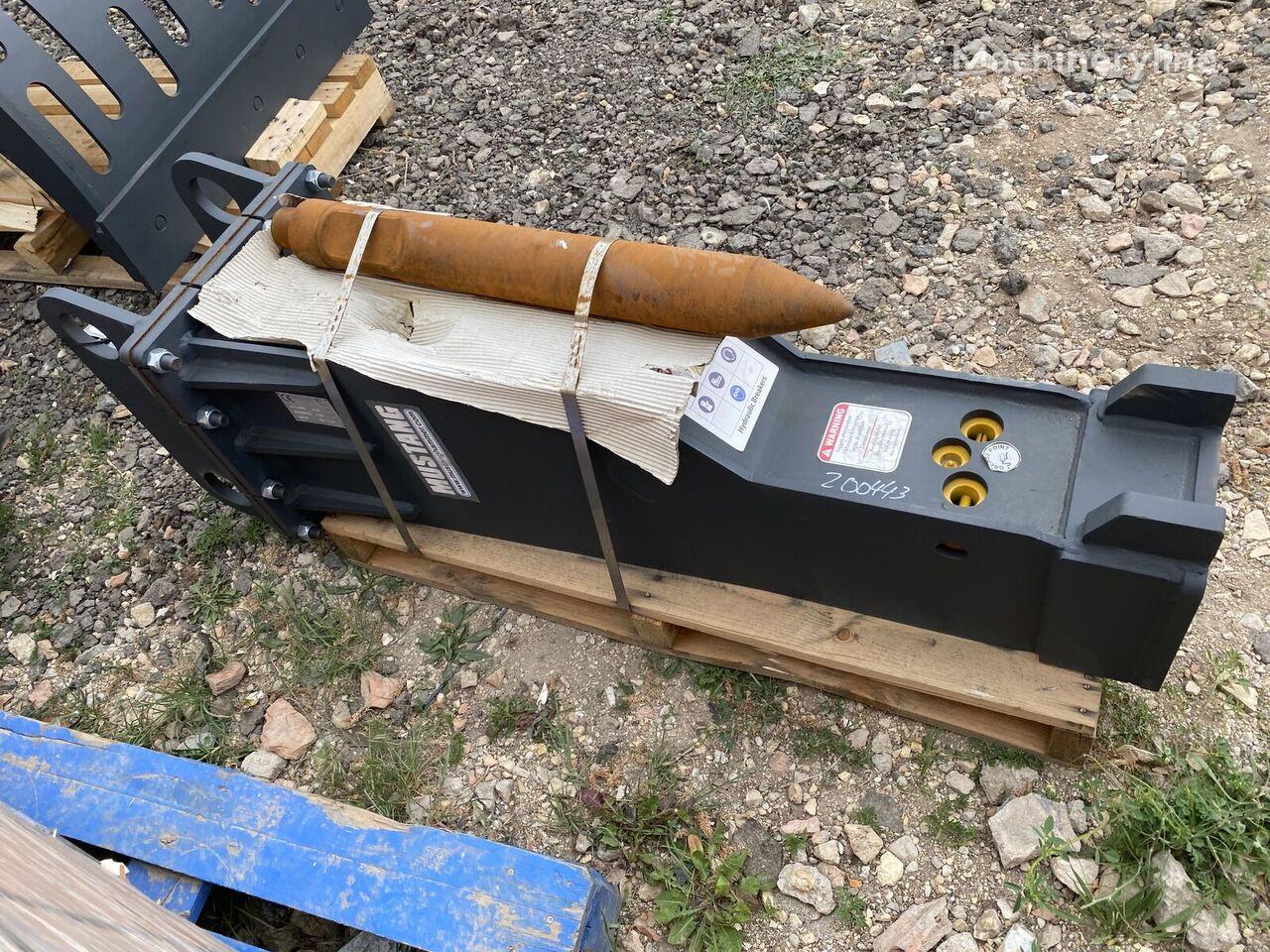 new MUSTANG Hm1000 hydraulic breaker