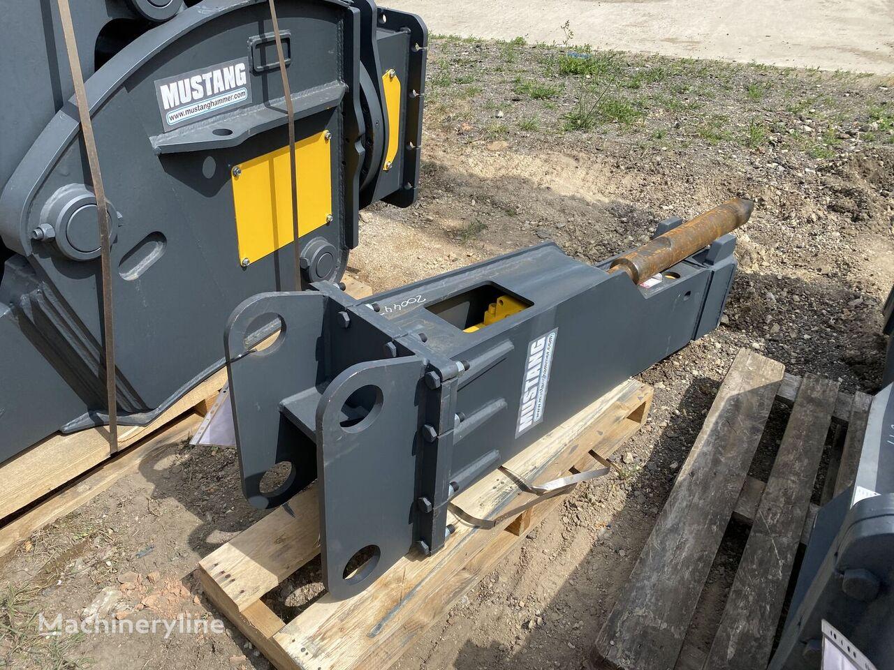 new MUSTANG Hm1300 hydraulic breaker