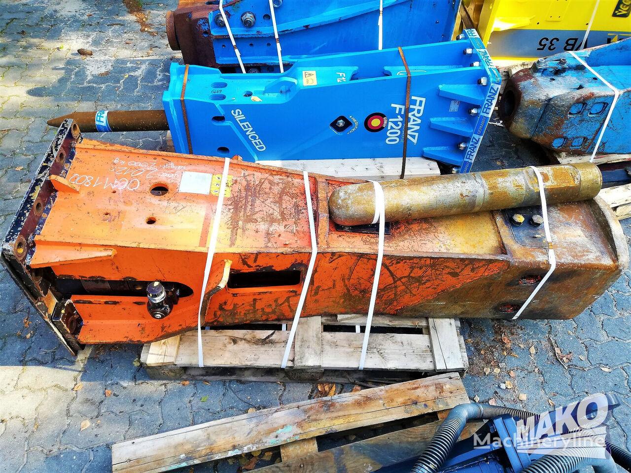 OCM 1800 hydraulic breaker