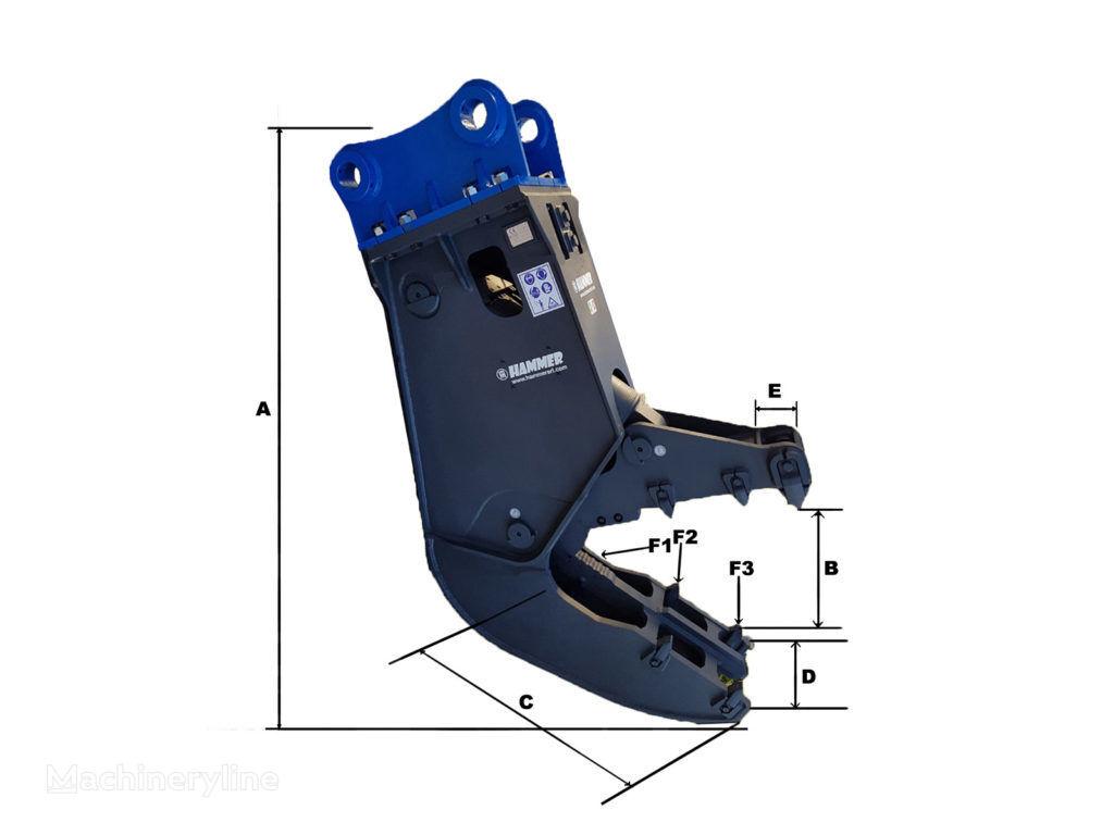 new HAMMER FH18 hydraulic shears