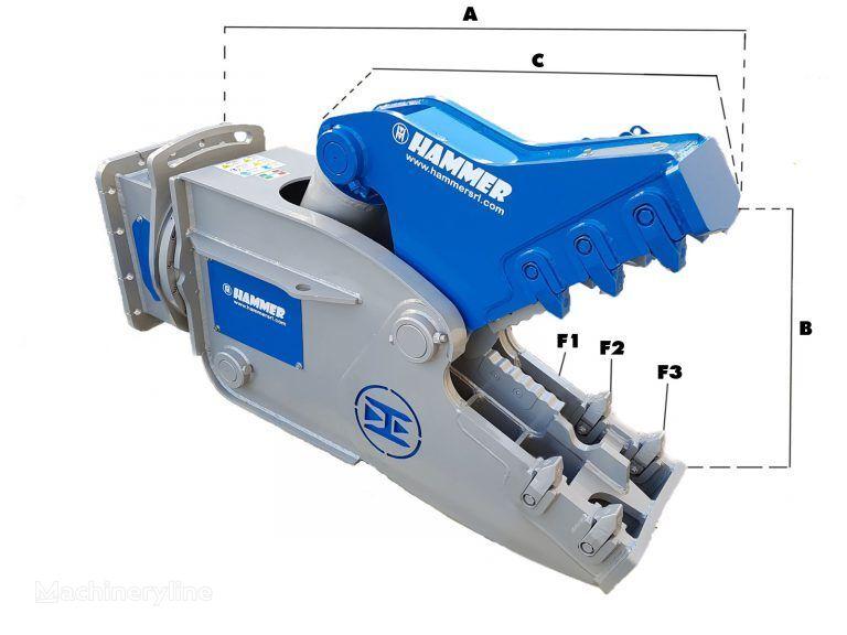 new HAMMER RH09 hydraulic shears