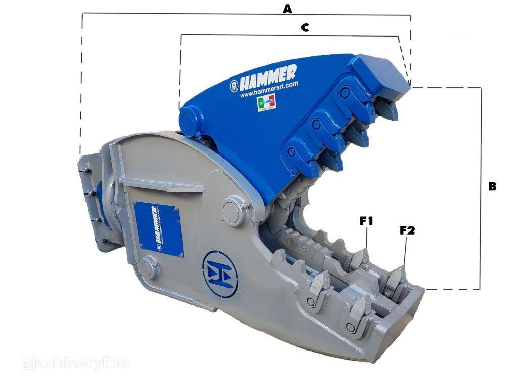 new HAMMER RH25 hydraulic shears