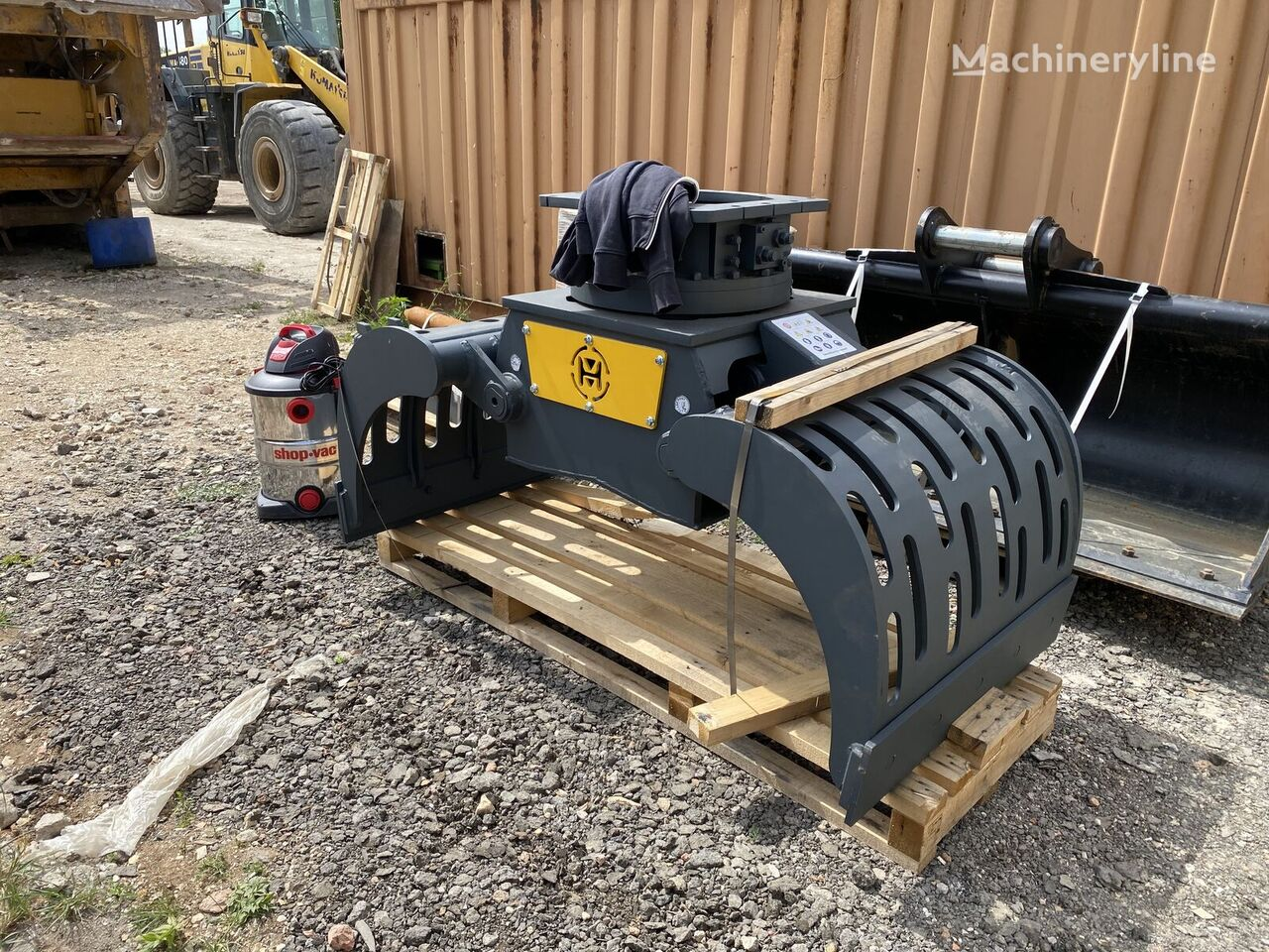 new MUSTANG GRP1500 hydraulic shears